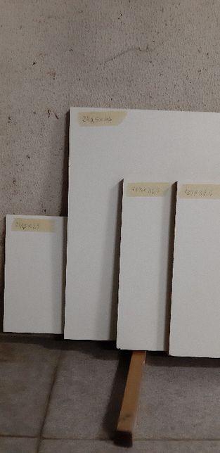Placas de melamina branca 16mm - vários tamanhos