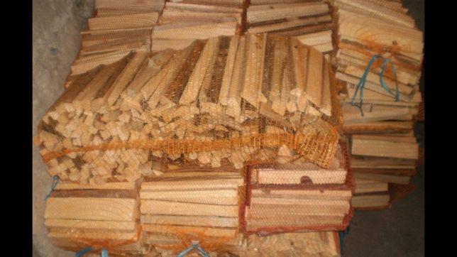 Drewno opałowe DUŻE WORKI 1m x 45cm x 45cm