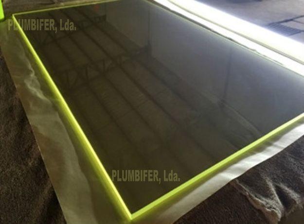 Vidros chumbineos ou Plumbiferos e Barreiras de protecção radiológica