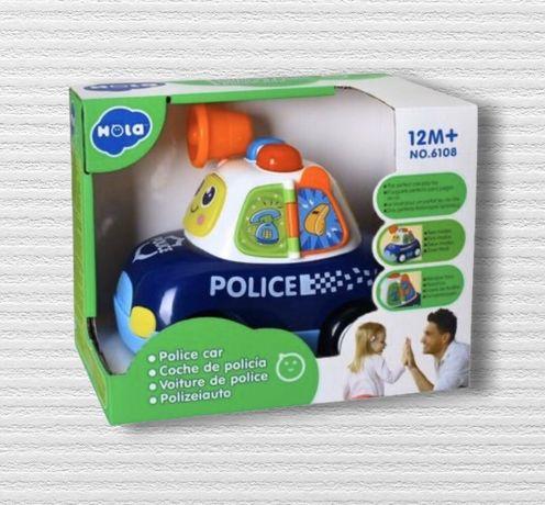 Музыкальная полицейская машинка Hola (Huile) toys