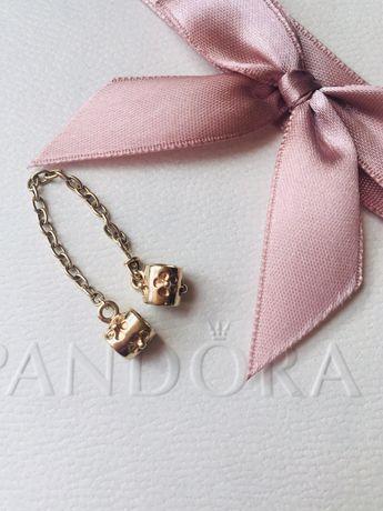 Łańcuszek zabezpieczający Pandora G585 złoty