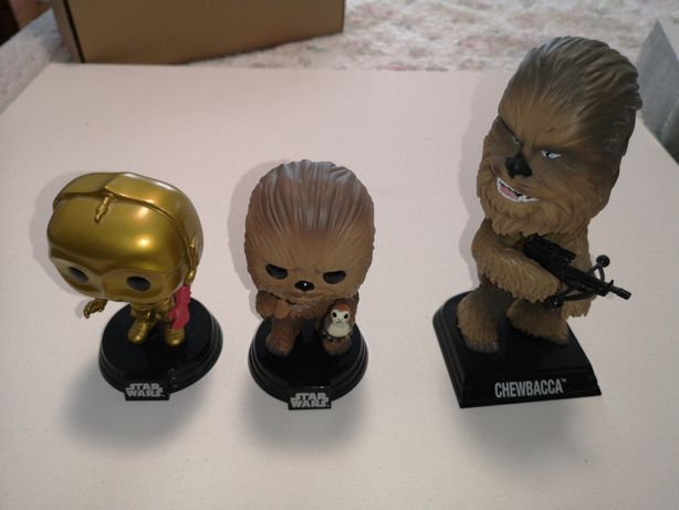 Bonecos do star wars