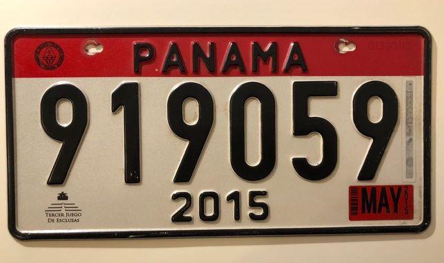 Tablica rejestracyjna Panama