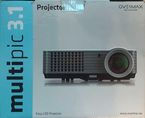 Rzutnik Projektor OVERMAX MULTIPIC 3.1 led 50000