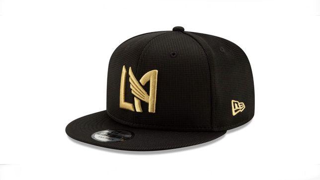 Męska Czarna czapka z daszkiem bejsbolówka New Era9 Fifty Snapback MLS