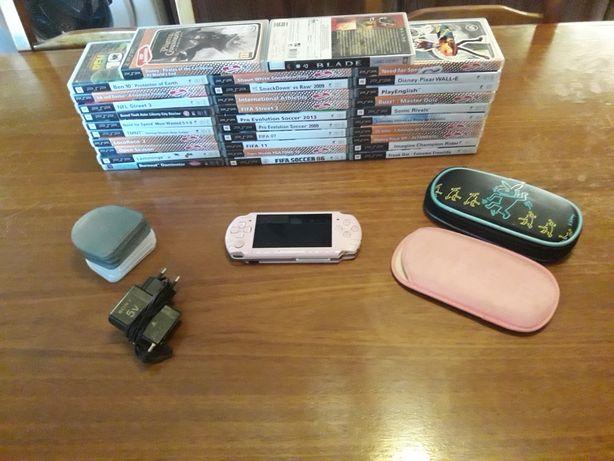 PSP Slim&Lite 3004(última geração) Nova