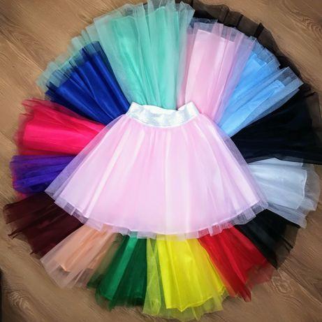 Фатиновая юбка пачка из фатина , до 20 цветов в наличии