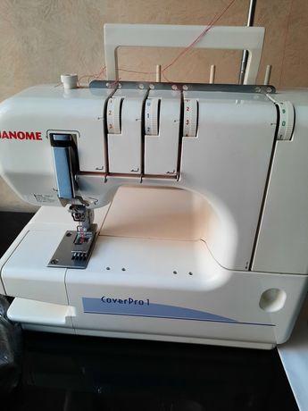 Швейная машинка машина JANOME Cover Pro1