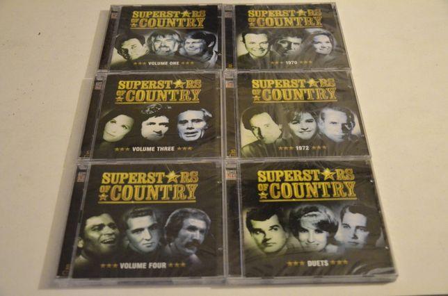 Colecção de CDs de Musica Country - Superst*rs of Country 6CD
