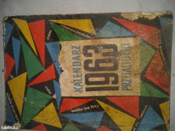1963 Kalendarz Przyjaciółki