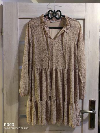 Sukienka panterka S-XXL rozmiar uniwersalny