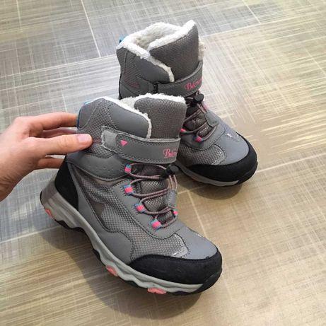 B&g 22 см классные термо сапоги для девочки детские зимние чоботи