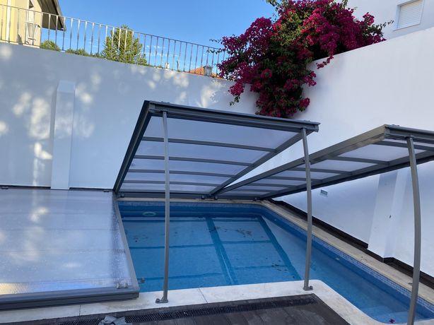 Cobertura de piscina (Abrisud).