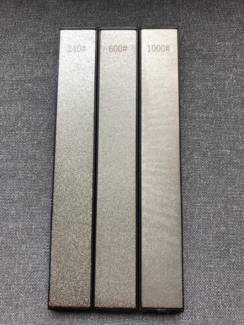 Ostrzałka diamentowa osełki kamienie 240,600,1000 Ganzo Touch Pro Apex