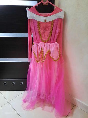 Sukieneczka księżniczki użyta tylko na przedstawienie