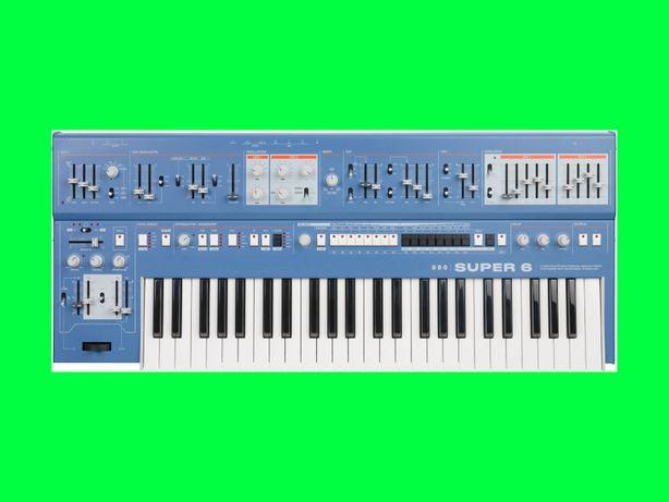 UDO Audio Super 6 Blue / SYNTEZATOR 12 głosowy