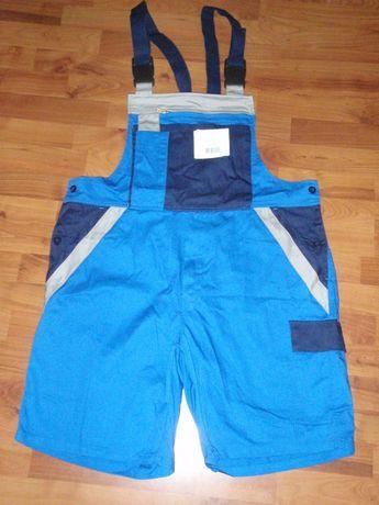 Рабочие шорты-комбинезон, новые, размер 58