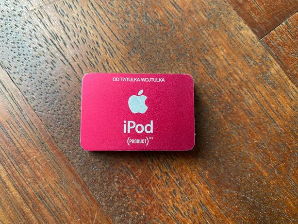 Apple iPod Shuffle Red Special Edition 1GB ideał MP3