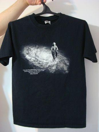 """футболка""""Альберт Эйнштейн""""крылатое изречение,р.46,хлопок"""