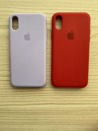 Силиконовые чехлы на iPhone X (10)