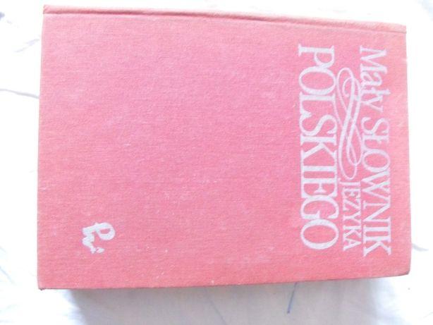 Książka Mały Słownik Języka Polskiego