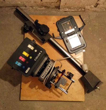 Wyposażenie ciemni fotograficznej powiększalnik Opemus 6 Color
