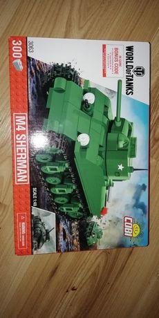 Zestaw klocki Cobi Worldoftanks Nowe czołg