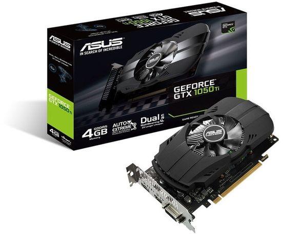Игровая видеокарта nVIDIA GeForce 1050ti 4GB