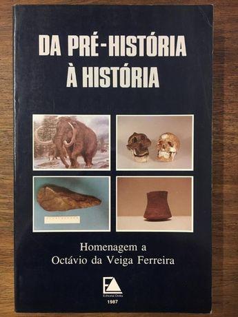 da pré-história à história, octavio da veiga ferreira, 1987