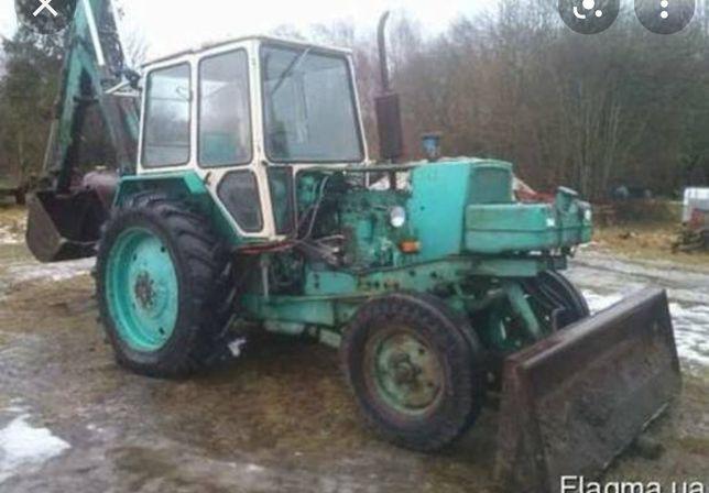 Трактор    ЮМЗ 6 Екскаватор