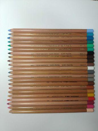 22 Lápis de Pastel Seco Gioconda NOVOS