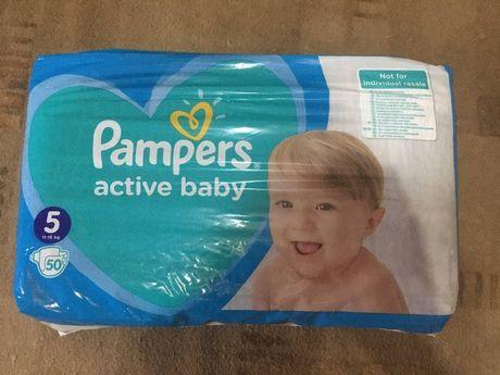 Pampers active baby Детские памперсы
