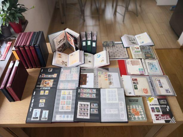 Kolekcja znaczków SZACHY, FDC,kopert, stempli, kart tel.,filatelistyka