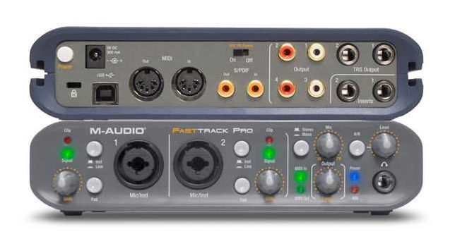 Звуковая карта m-audio fast track pro