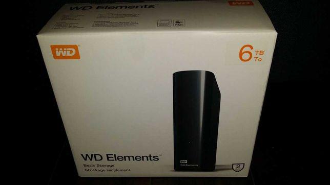 WD Western Digital Elements 6TB Nowy Dysk Gwarancja