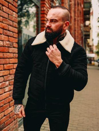 Стильная! Модная Мужская Замшевая Зимняя Куртка! До -(25)