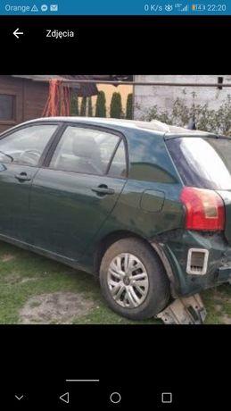 Drzwi lewy tył Toyota Corolla e12 HB kod lakieru 6r4