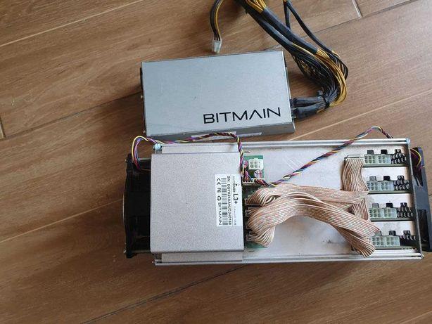 Asic Bitmain Antminer l3+  с бп