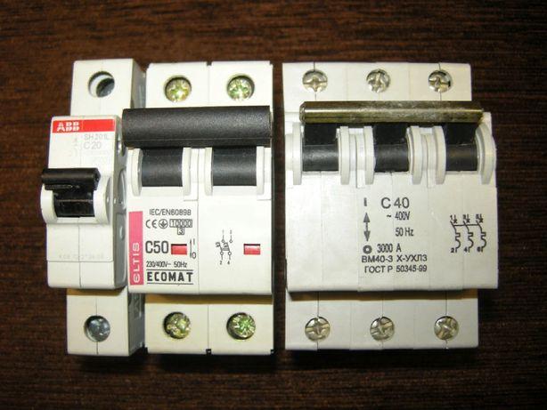 ABB, Ecomat/Eltis, Курск - автоматический выключатель, автомат