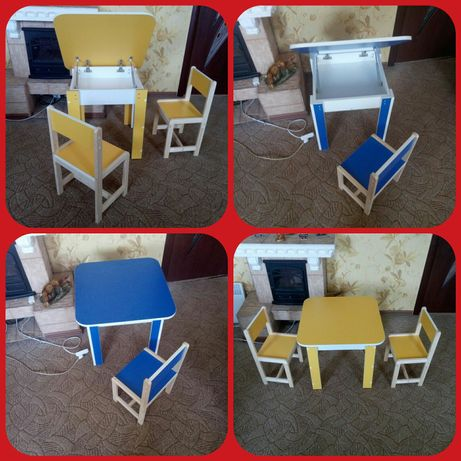 Детский столик стульчик, стол стул, столик стул, стульчик стол.