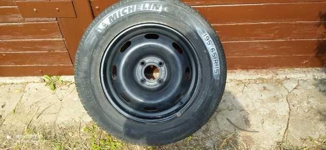 komplet kół Citroen C3 Michelin Energy 195 65 R15 oryginalne