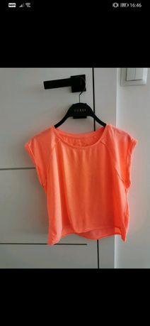Crop top lekki T-shirt