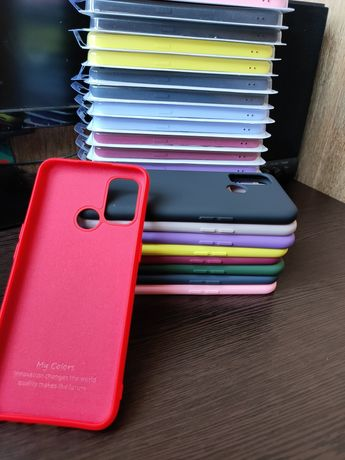 Чехол soft touch на Oppo A53, A31, A52, A72, A12, A5s, A5, A9, A91