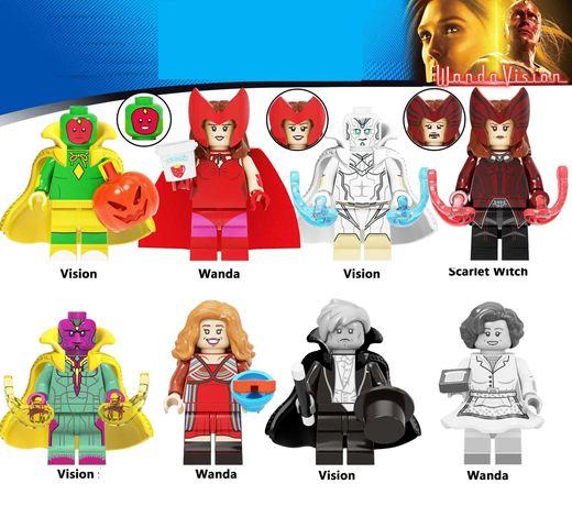 Bonecos / Minifiguras Super Heróis nº195 Marvel (compatíveis com lego)