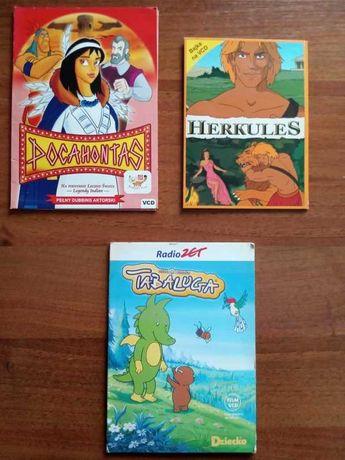 Pocahontas Herkules Tabaluga - bajki dla dzieci DVD