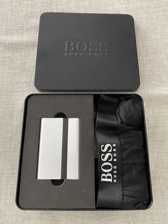 Hugo Boss , idealny prezent , bokserki  i wizytownik