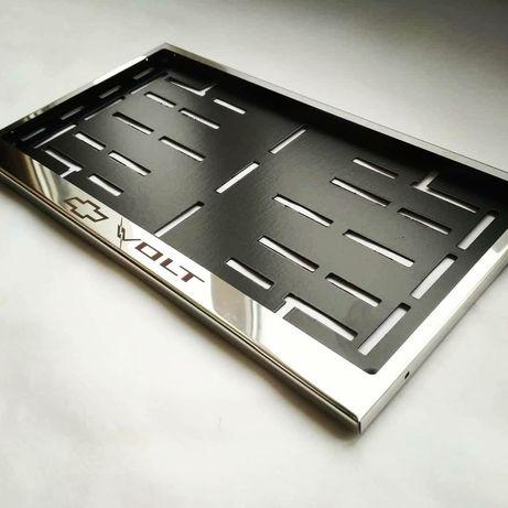 Рамка под Американский автомобильный номер Chevrolet Volt Подномерник