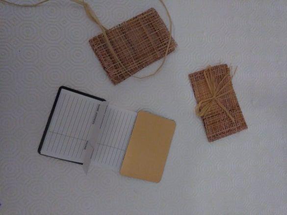 Conjunto 2 mini agendas telefónicas