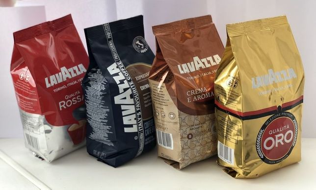 Кофе Кава Lavazza Лавацца Лавазза LAVAZZA в зернах 1кг . есть ОПТ