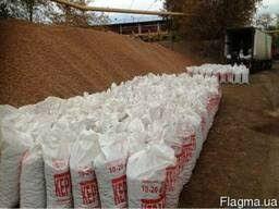 Строительные материалы навалом и в мешках отсев песок цемент